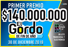 Afiches EL GORDO_2019